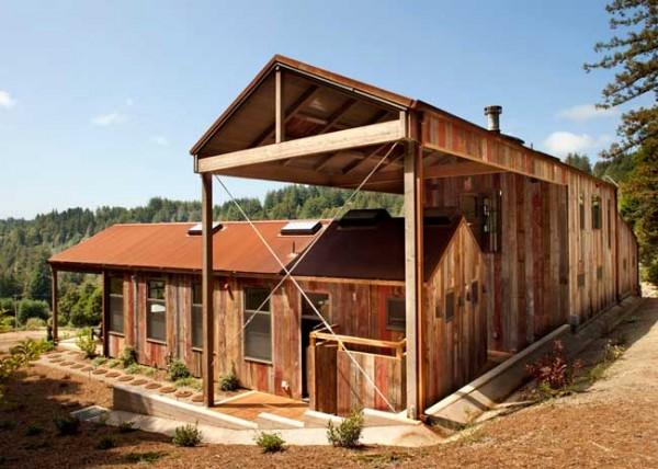 CCS Architecture plantea una cabaña de ensueño en California