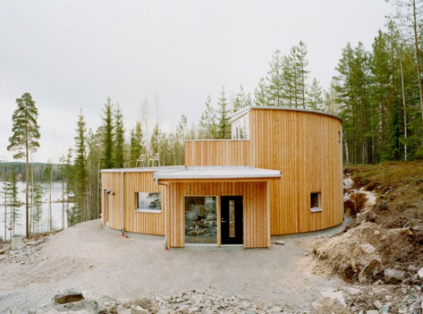 Villa Nyberg en Suecia, una casa ecológica al alcance de cualquiera