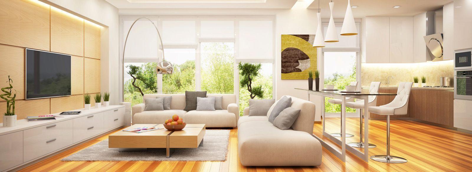 Historia del diseño de interiores, elementos y funciones
