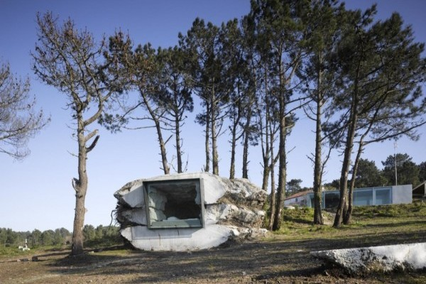 La Trufa en Costa da Morte, arquitectura natural de Antón García-Abril