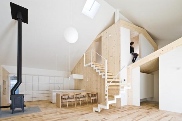 Yoshichika Takagi nos sorprende con su Casa K, seis viviendas en una